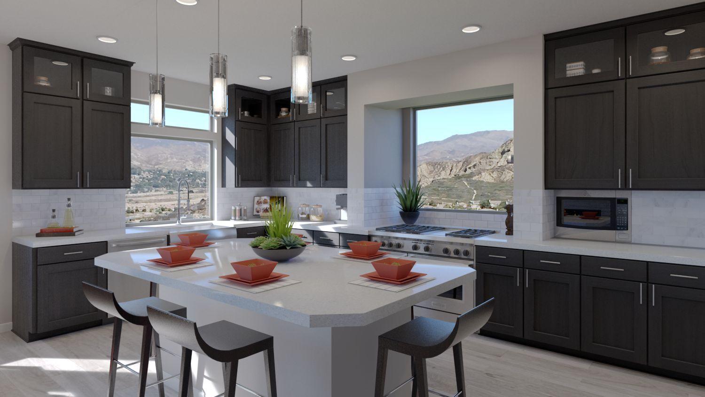 The Madden Plan Kitchen New Home Designs Kitchen House Design