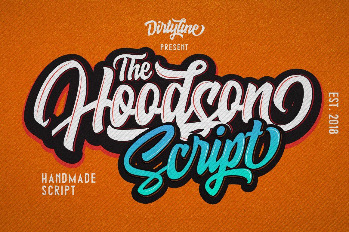 Hoodson script pixelify