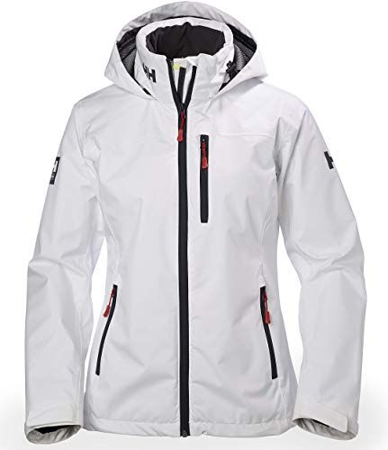 Enjoy exclusive for Helly Hansen Women's Crew Midlayer Fleece Lined Waterproof Windproof Breathable Sailing Rain Coat Jacket Stowable Hood online #womenvest