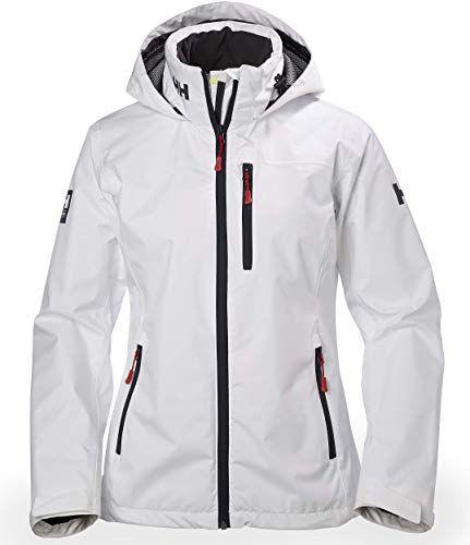 Enjoy exclusive for Helly Hansen Women's Crew Midlayer Fleece Lined Waterproof Windproof Breathable Sailing Rain Coat Jacket Stowable Hood online – Newtoprated