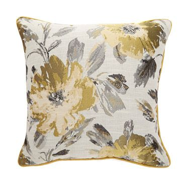 Cushions Throws And Rugs Yellow Ava Cushion Dunnes S