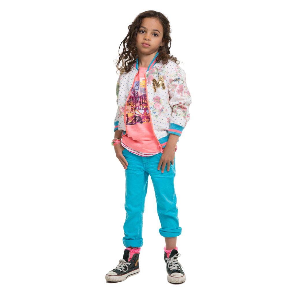 Moodstreet Kinderkleding.Moodstreet Jasje An143 S14 J84t6 Brightblue Kixx Online