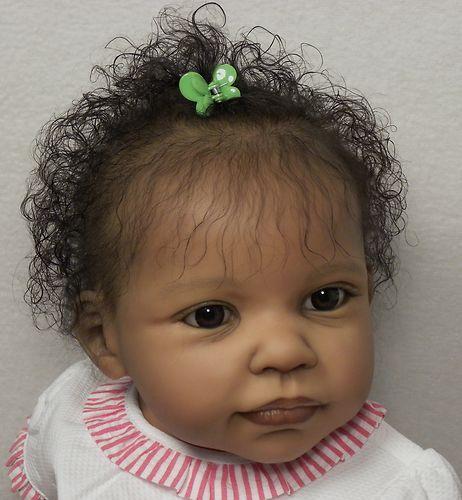 "AMAZING Reborn Ethnic A/A Baby Girl, Jannie de Lange's ""Andres"" now ~Brie~   eBay"