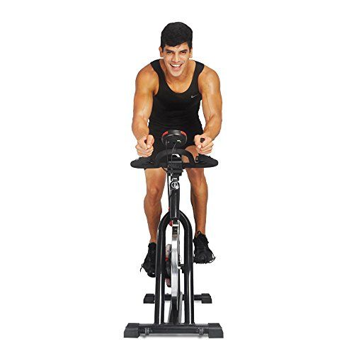 Indoor Cycling Bike Fitness Trainer Exercise Bike Health Workout