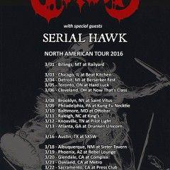 CONAN Announce North American Tour