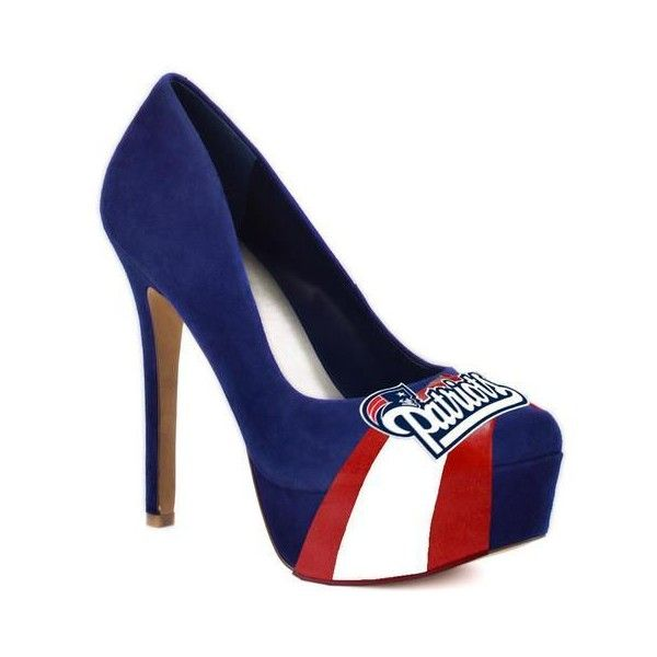 New England Patriots High Heels found on Polyvore