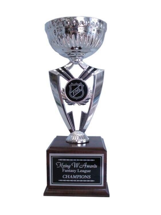 Fantasy Hockey Silver Cup 16 Year Trophy Fantasy Hockey Fantasy League Trophy