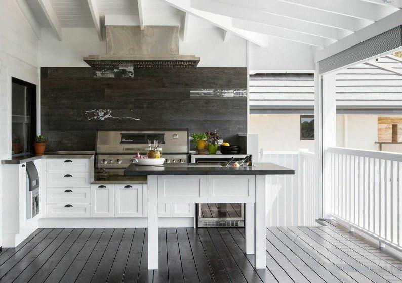 outdoor kitchen with ice machine outdoor kitchen outdoor bbq kitchen bbq kitchen on kitchen interior queenslander id=59418