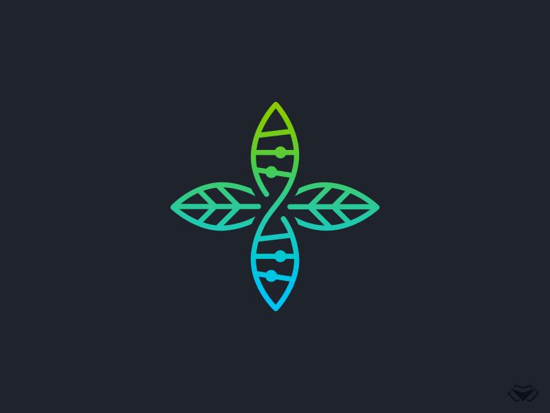 Medical Dna Plant Logo Plant Logos Dna Logo Medical Logo Design
