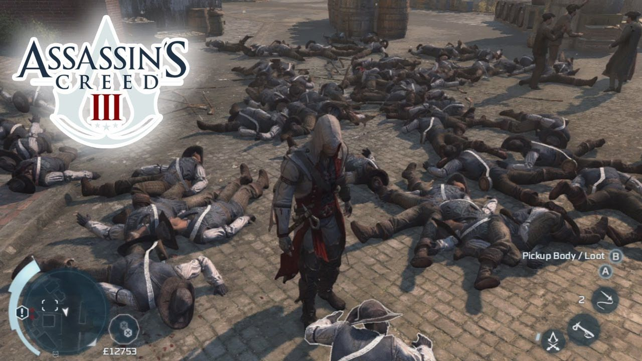 Assassin's Creed 3 (AC3) Epic Battle Gameplay: Longest Fight