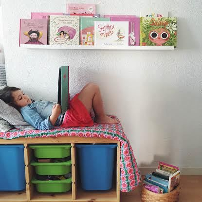 rincon-de-lectura-ninos Rincones de lectura, Lectura y Decoracion bebe - rincon de lectura