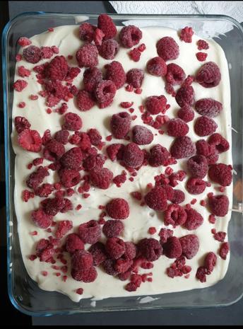 Windbeutel Dessert - Rezept mit Bild