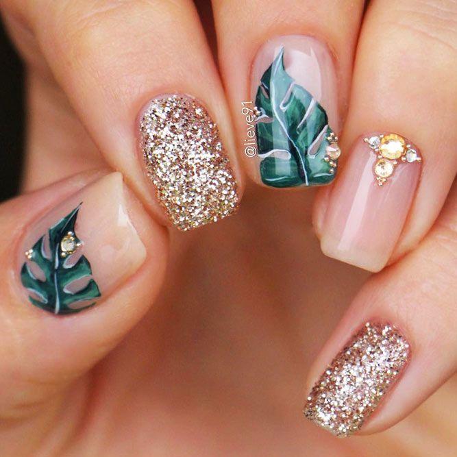 Pin by Iramis Moreno on ♥ n a i l s | Rose gold nails