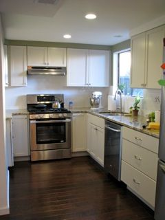 Our Finished Kitchen Cabinets Thomasville Cabbott Dover White