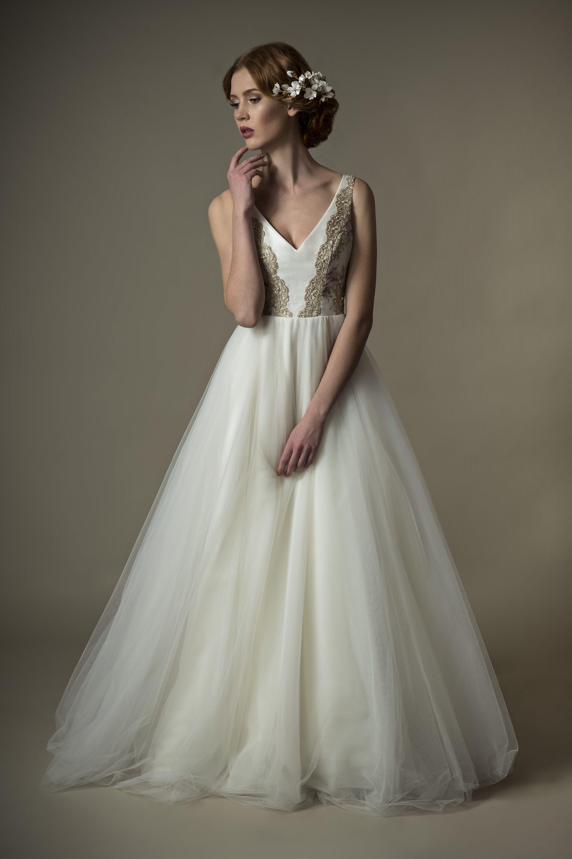 Unser Brautkleid Grace-Jolie. Wunderschön für die moderne Vintage ...
