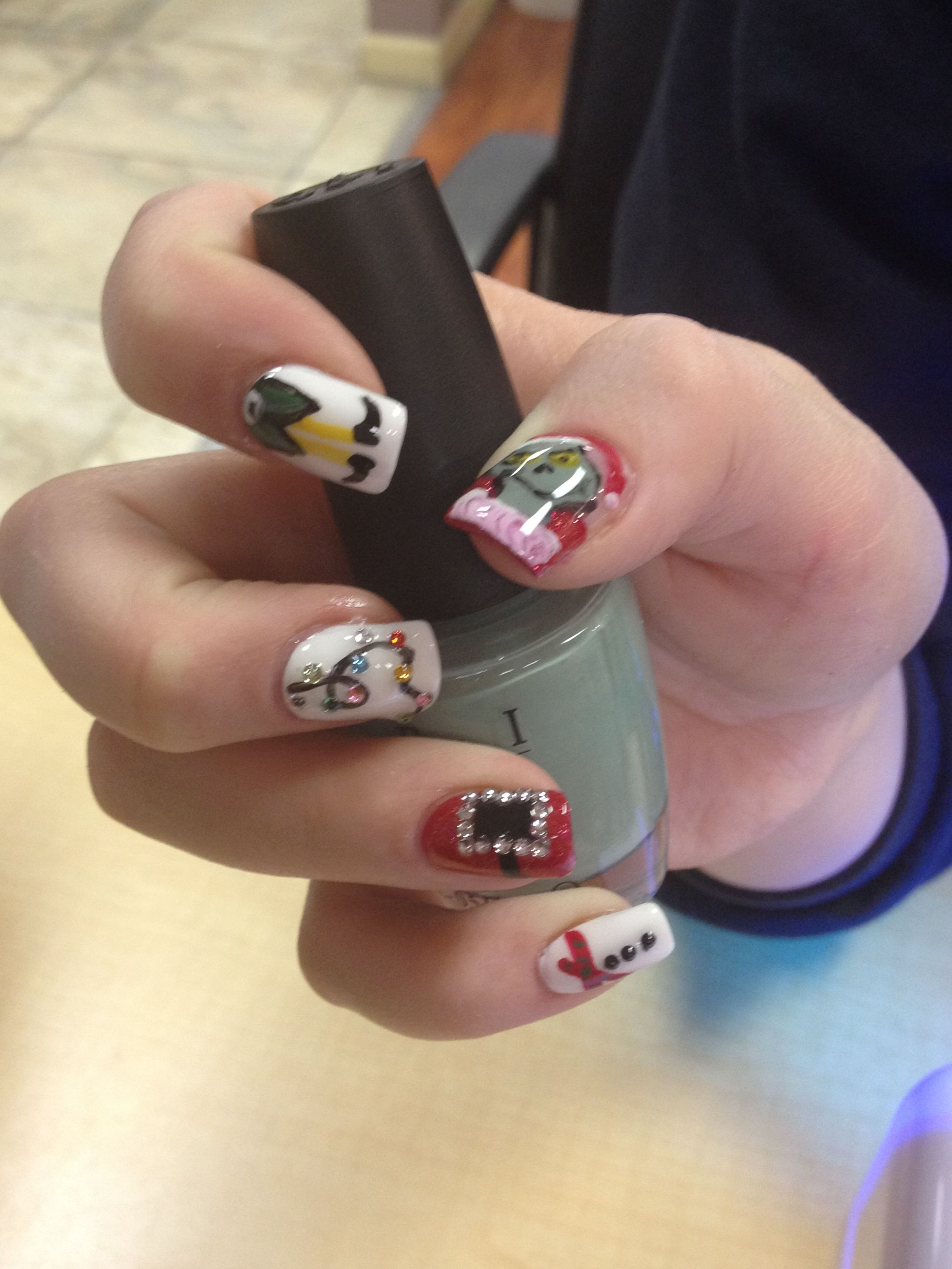 Nail Art By Theresa Jiannotti At Hello Gorgeous Salon And Day Spa In
