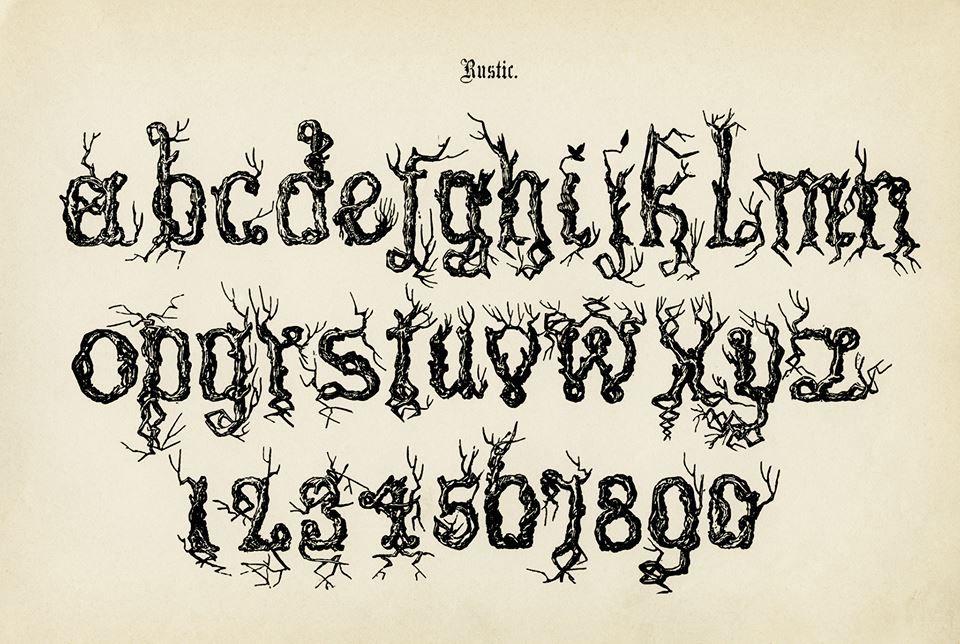 rustic font or calligraphy | Design | Pinterest