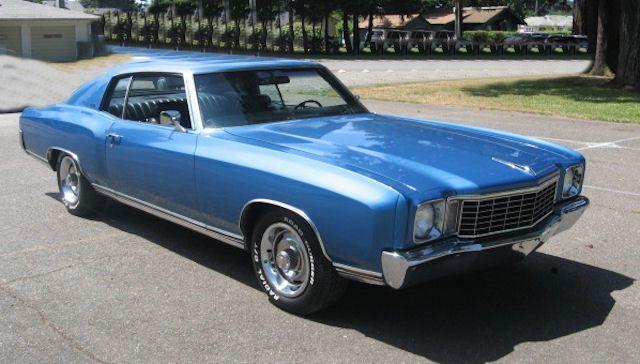 26 26 Mulsanne Blue Chevrolet Monte Carlo Monte Carlo Chevy Monte Carlo