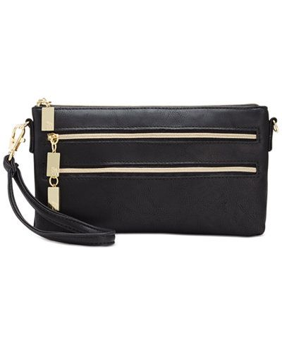 $44.50 Style & Co Mini Convertible Wristlet Crossbody, Only at Macy's