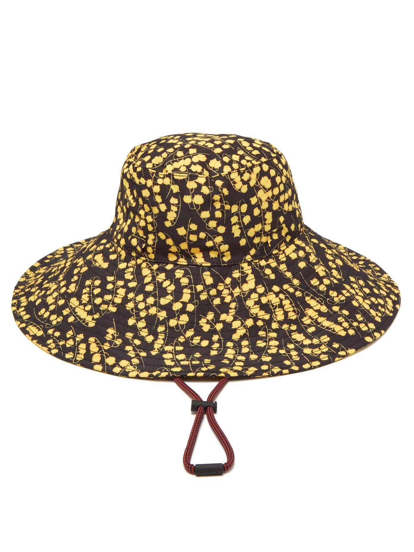 100e74ed Azalea floral-print bucket hat | Ganni | MATCHESFASHION.COM UK ...