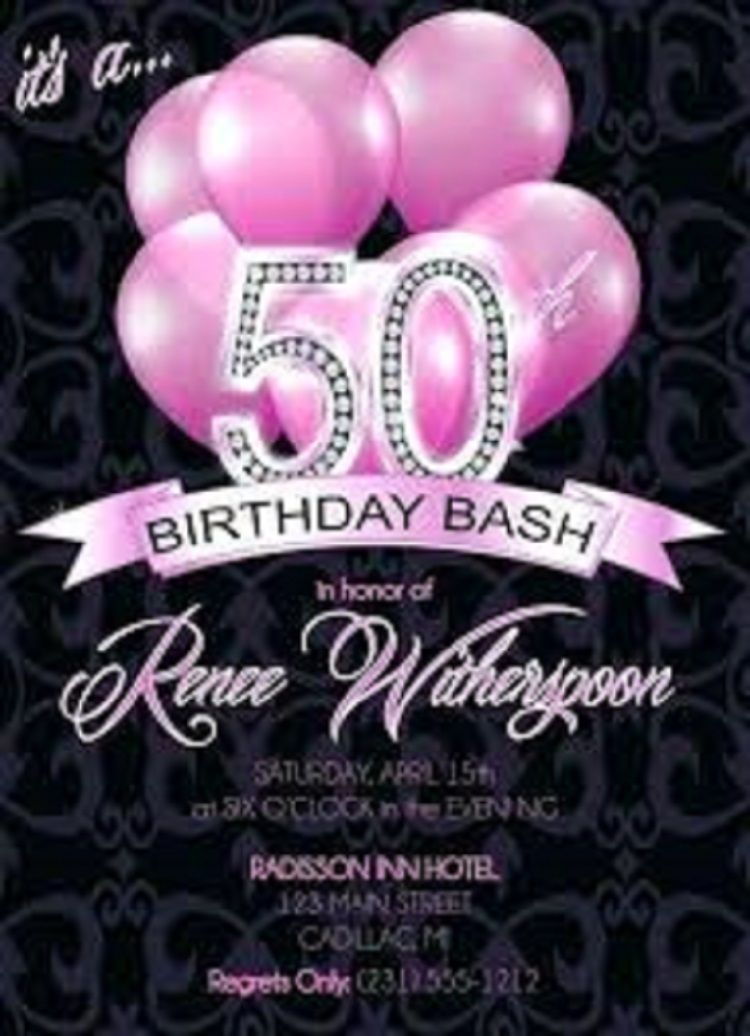 50th Birthday Invitations Online Australia