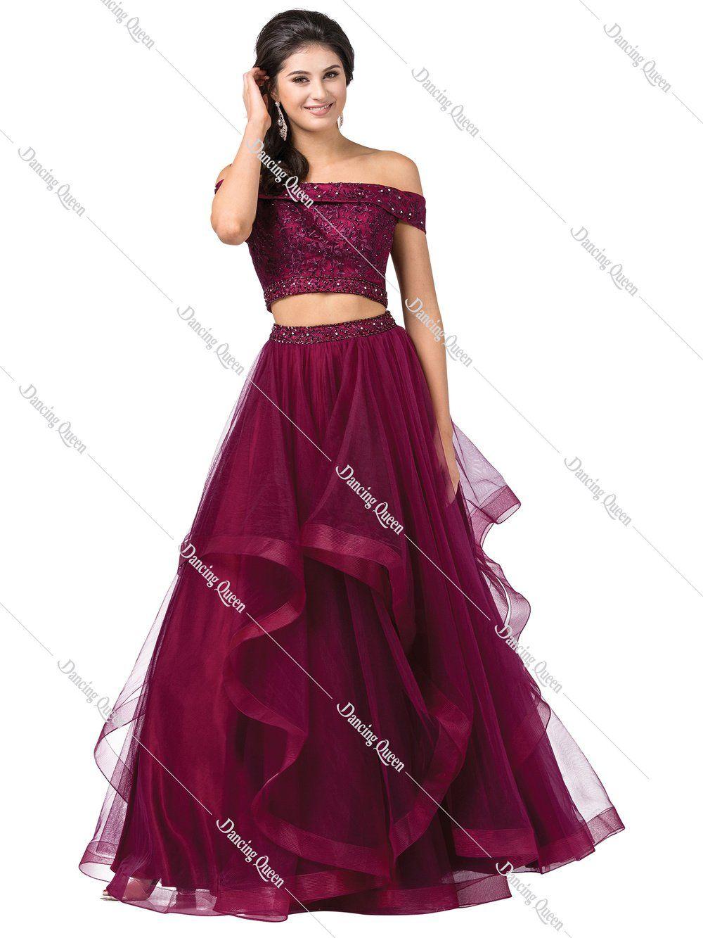 9e9eff192f DQ 2545 - Two-piece ballgown