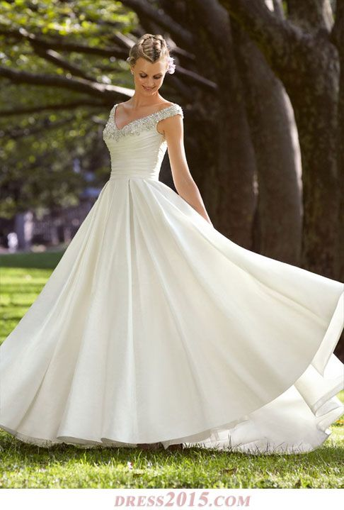 One Of My Favorite Wedding Dresses Simple Elegant Beaded And Not Strapless