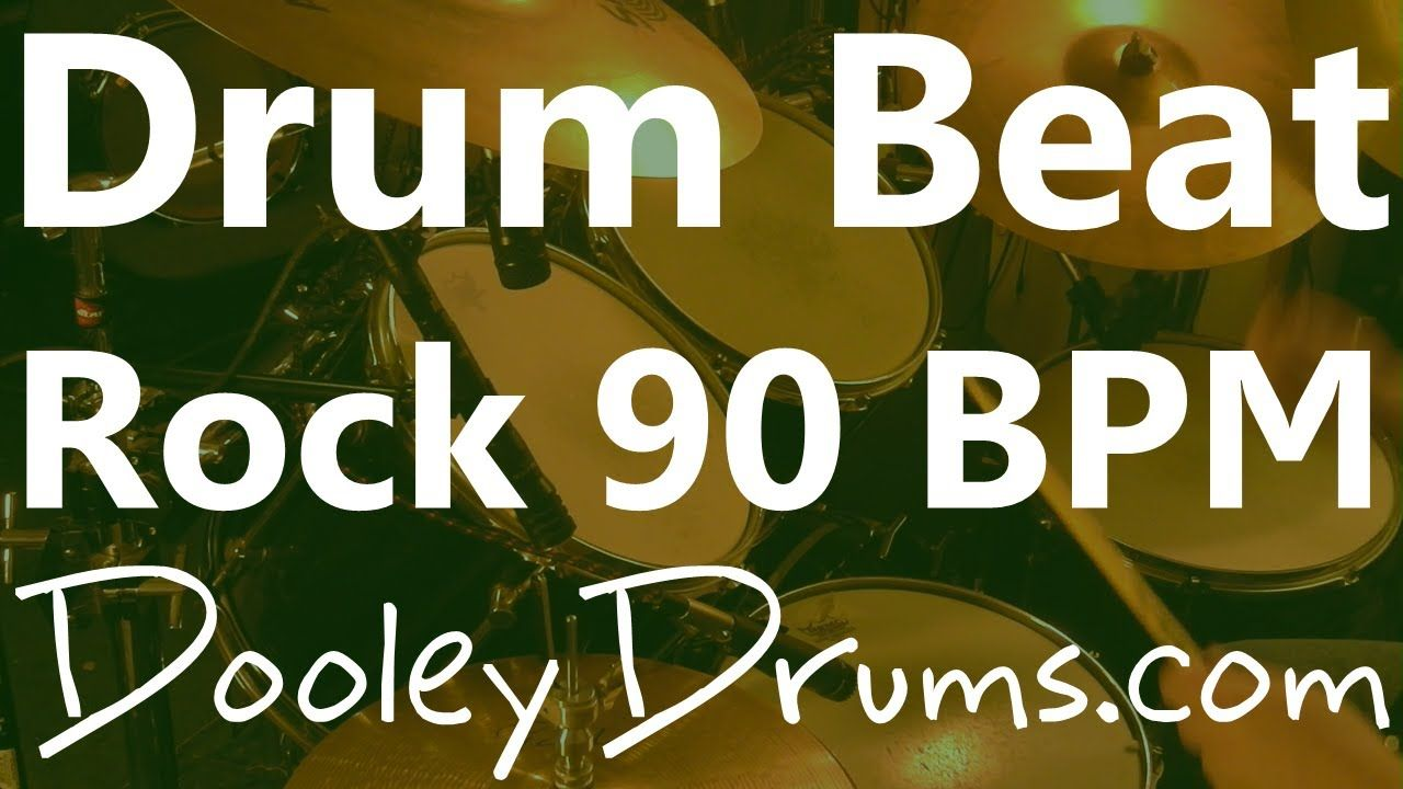 Backing Track Rock Drum Loops 90 BPM