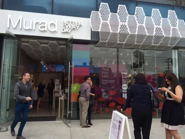 The brand new Murad stand alone store in LA, our directors had the pleasure of being invited out to see it #zenlifestyle