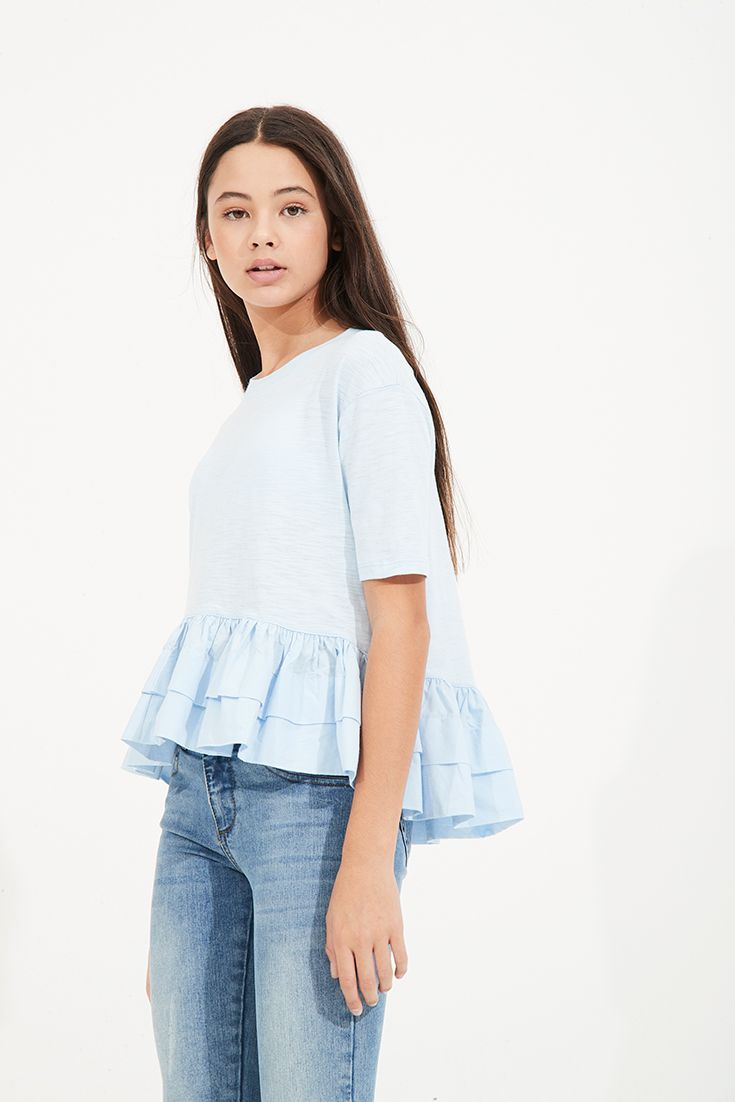 cebe6b89e Andes Top | Blue - Pavement Brands | Fashion | Girls clothing brands ...