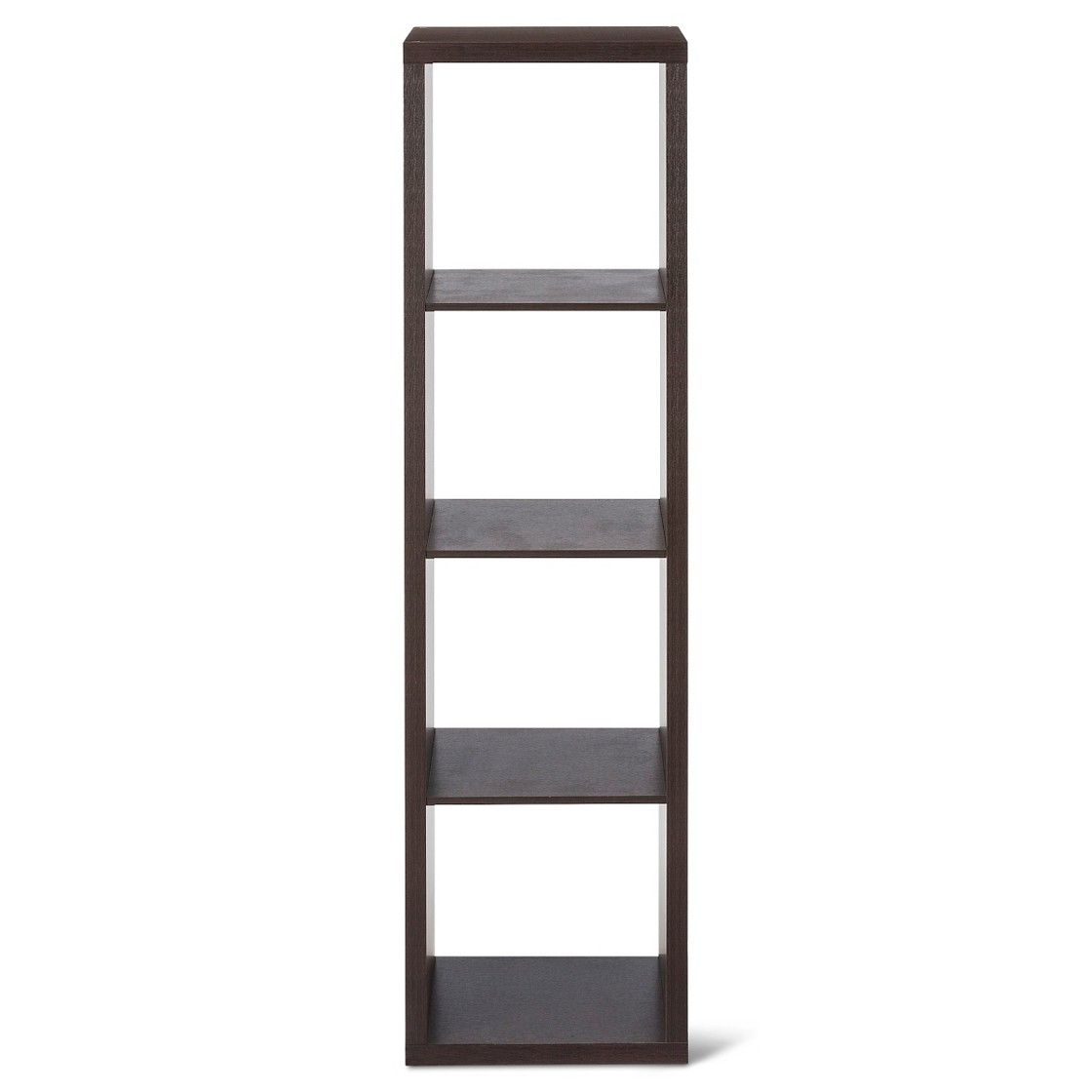 13 4 Cube Vertical Organizer Shelf Brown Threshold Shelf Organization Shelves Cube Shelves