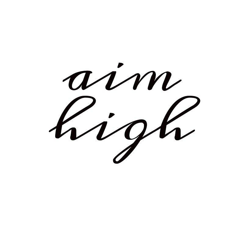'AIM HIGH' Greeting Card by IdeasForArtists