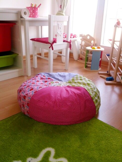 diy sitzkissen kinderzimmer pinterest kissen kissen n hen und sitzkissen. Black Bedroom Furniture Sets. Home Design Ideas