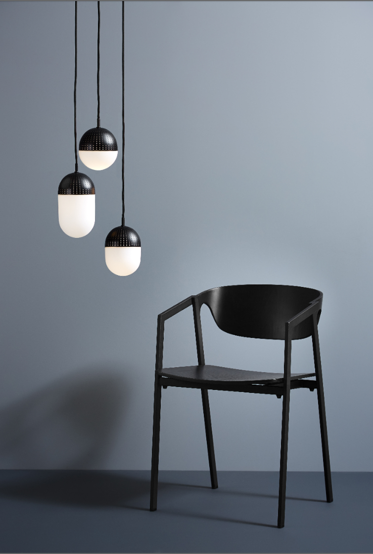 Pendant Dot S By Woud Black Made In Design Uk Metal Chairs Dining Chairs Lighting