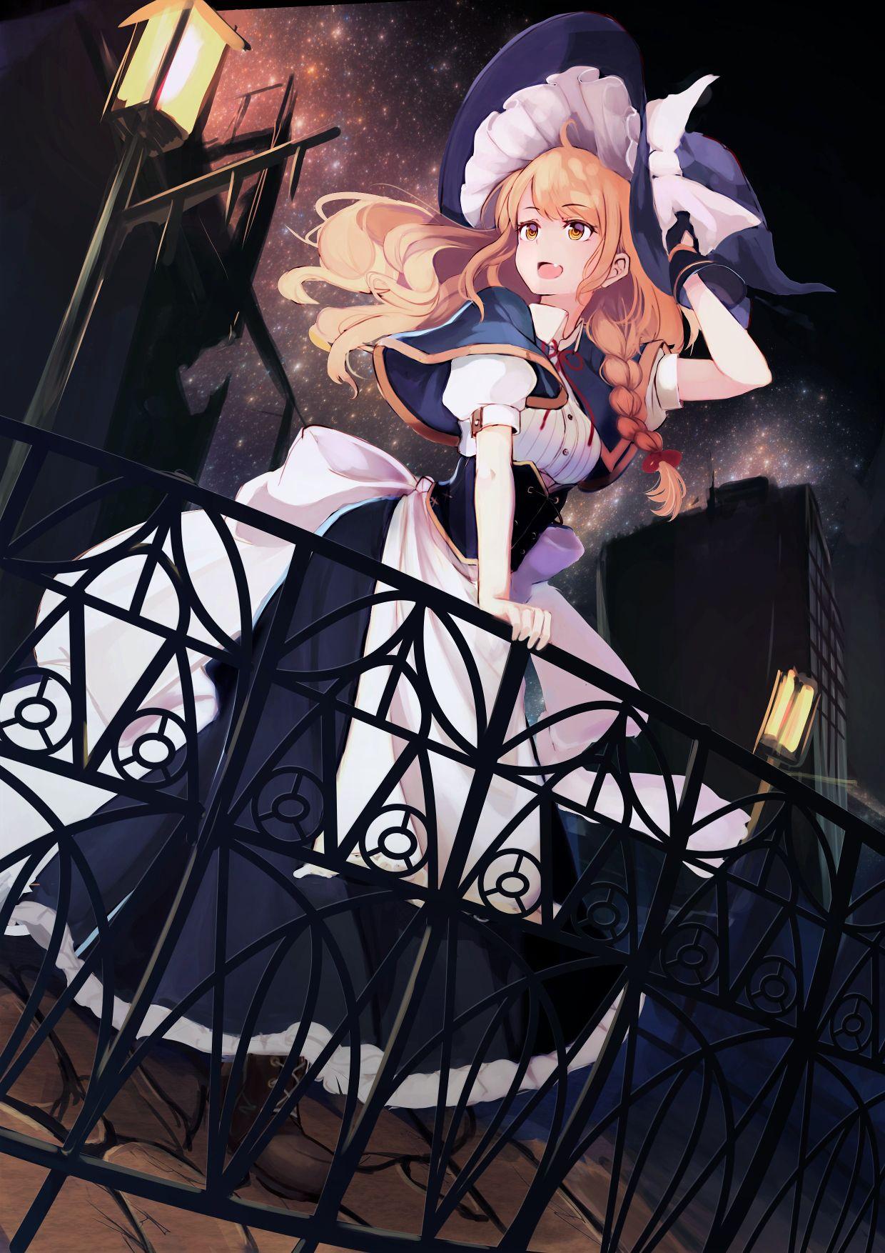 Kirisame marisa kawaii anime manga art manga anime anime art