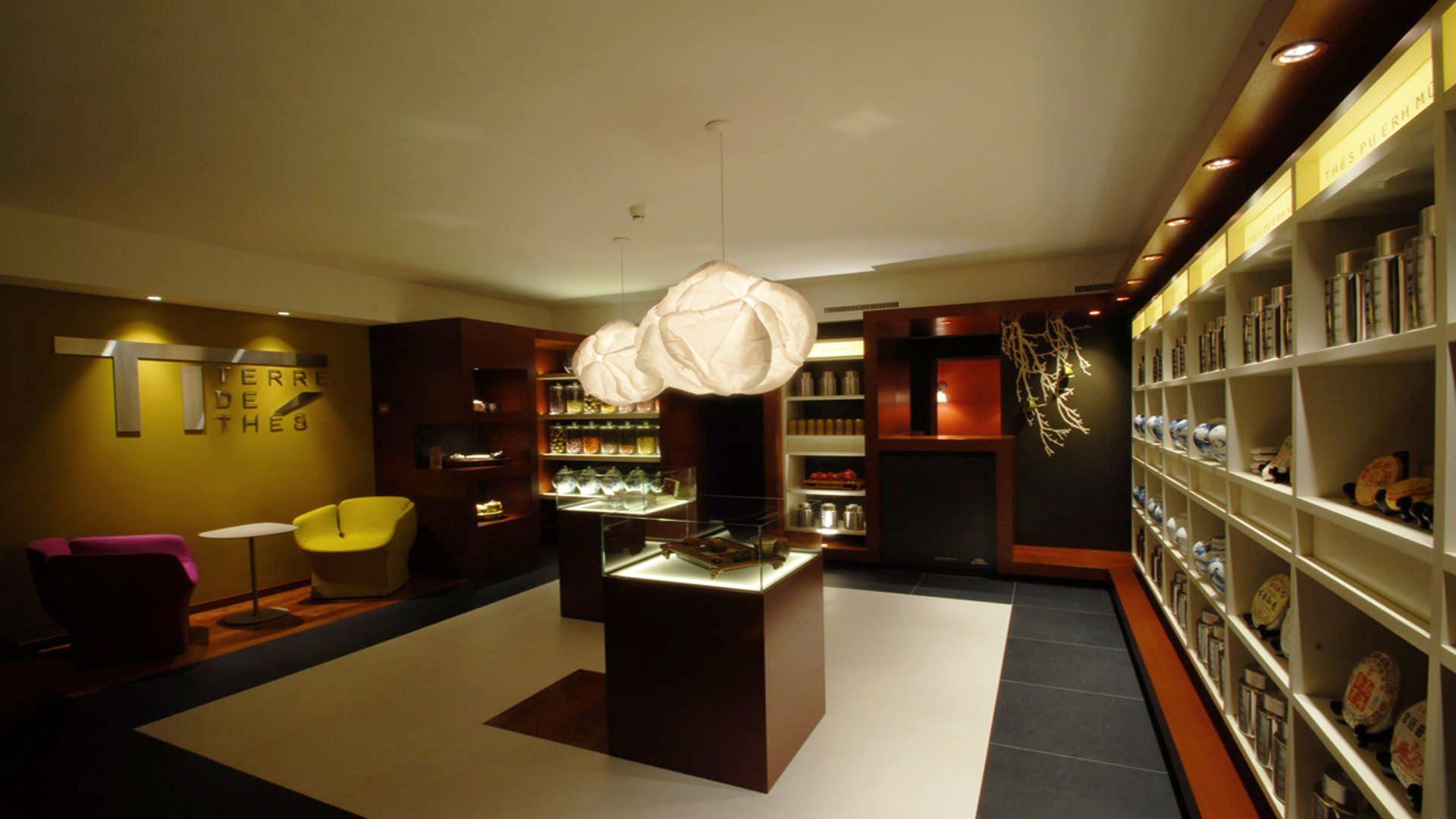 Swiss bureau interior design designed terre de thes lausanne