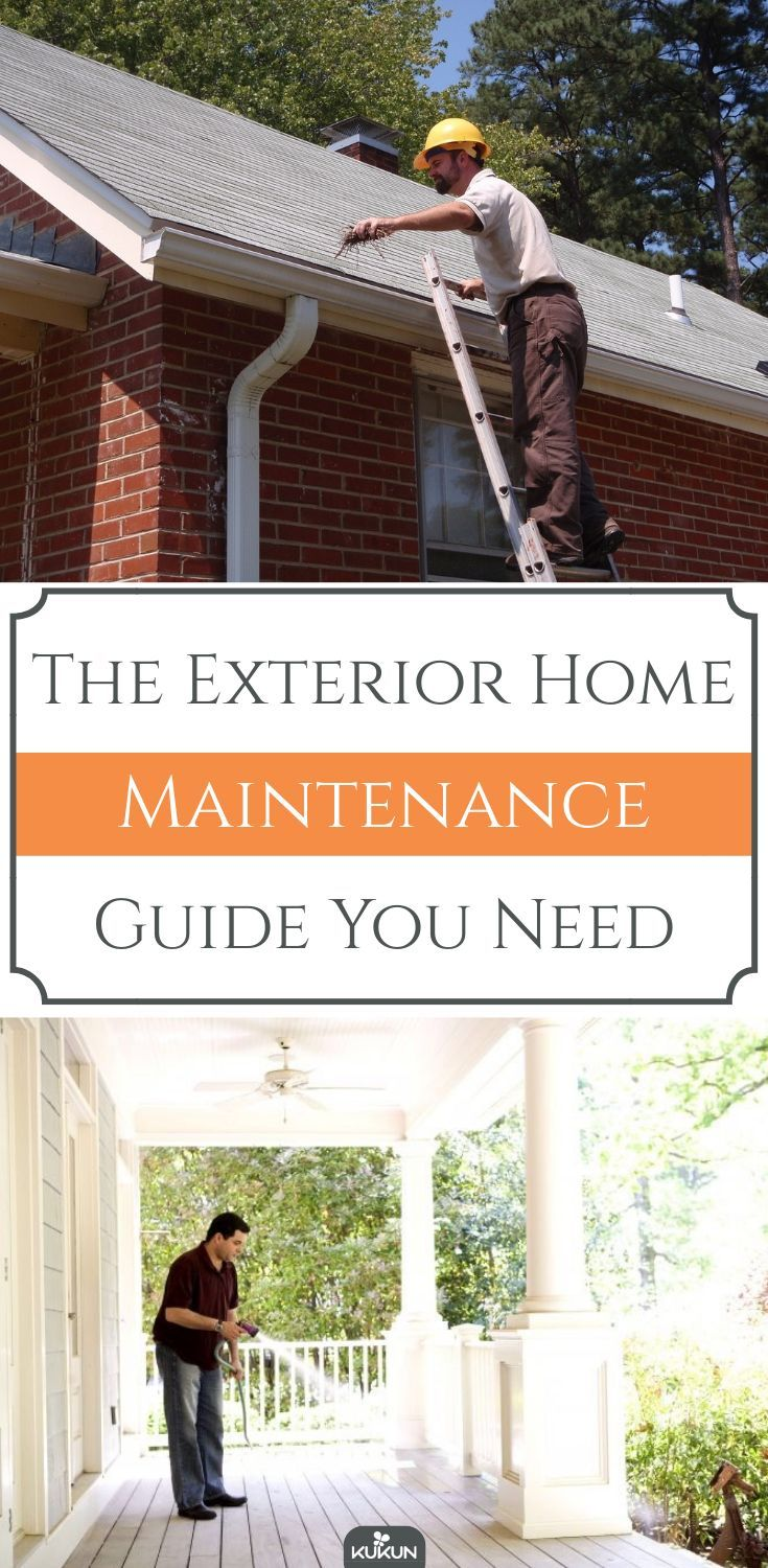 Photo of Die Exterior Home Maintenance Guide, die Sie brauchen   #brauchen #die #Exterior #guide #Home…