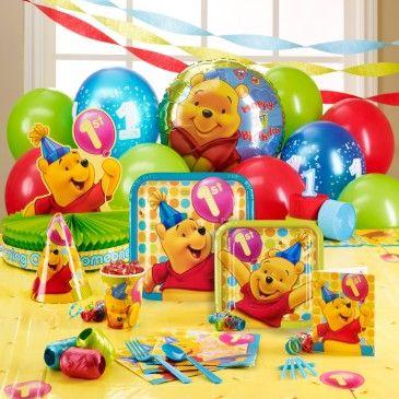 1ST BIRTHDAY PARTY IDEAS WINNIE THE POOH 1st Birthday