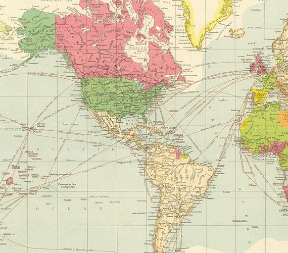 World map printable digital downloadntage world map maps world map printable digital downloadntage world map gumiabroncs Image collections