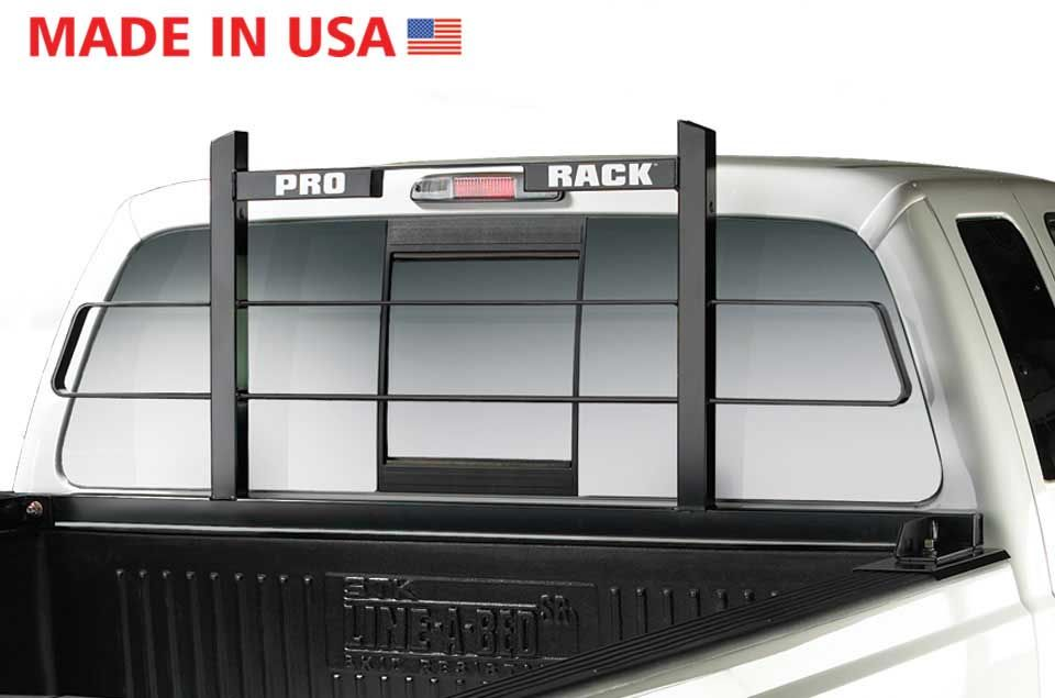 Prorack Cab Guard Pickup Truck Headache Racks Window