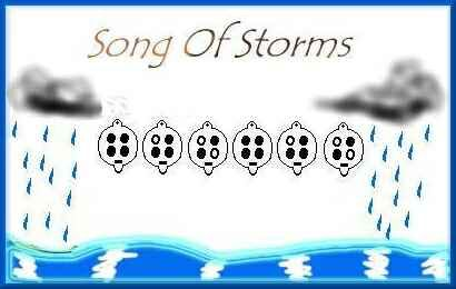 Song Of Storms 4 Hole With Images Songs Ocarina Music