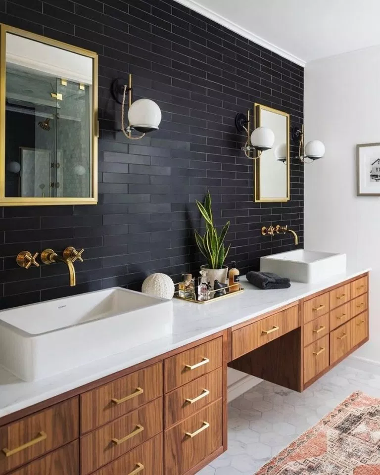 Photo of ✔87 wonderful and beautiful farmhouse bathroom decor ideas 16 ~ aacmm.com