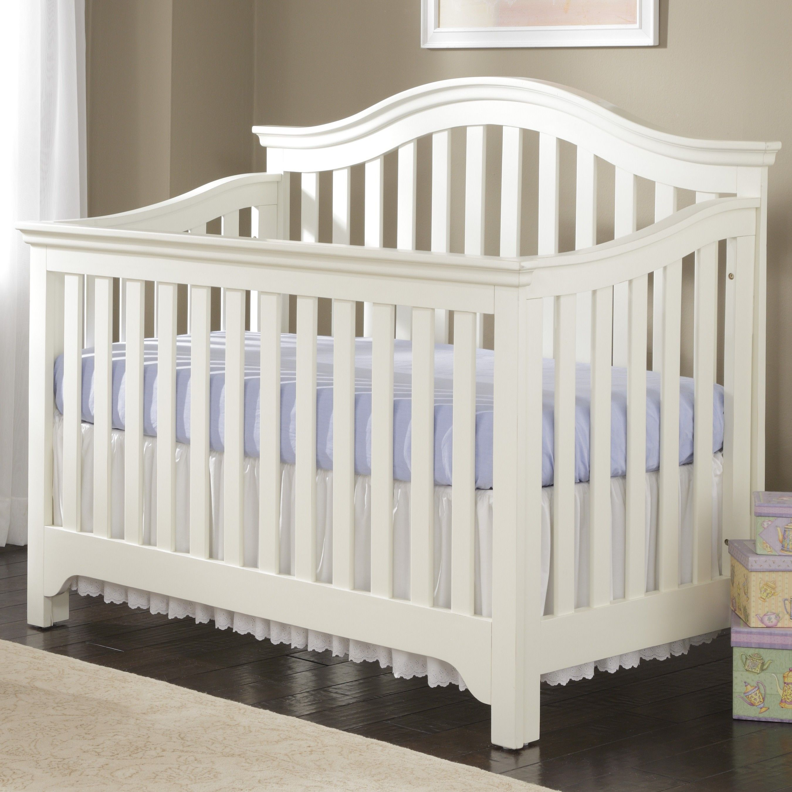 A White Crib Your Child Safety White Baby Cribs Cribs
