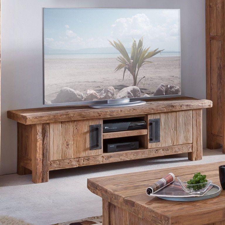 Photo of Porta tv in teak riciclato – Etnico Outlet mobili etnici scontati