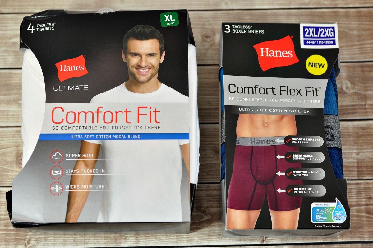 hanes comfort flex fit boxer briefs