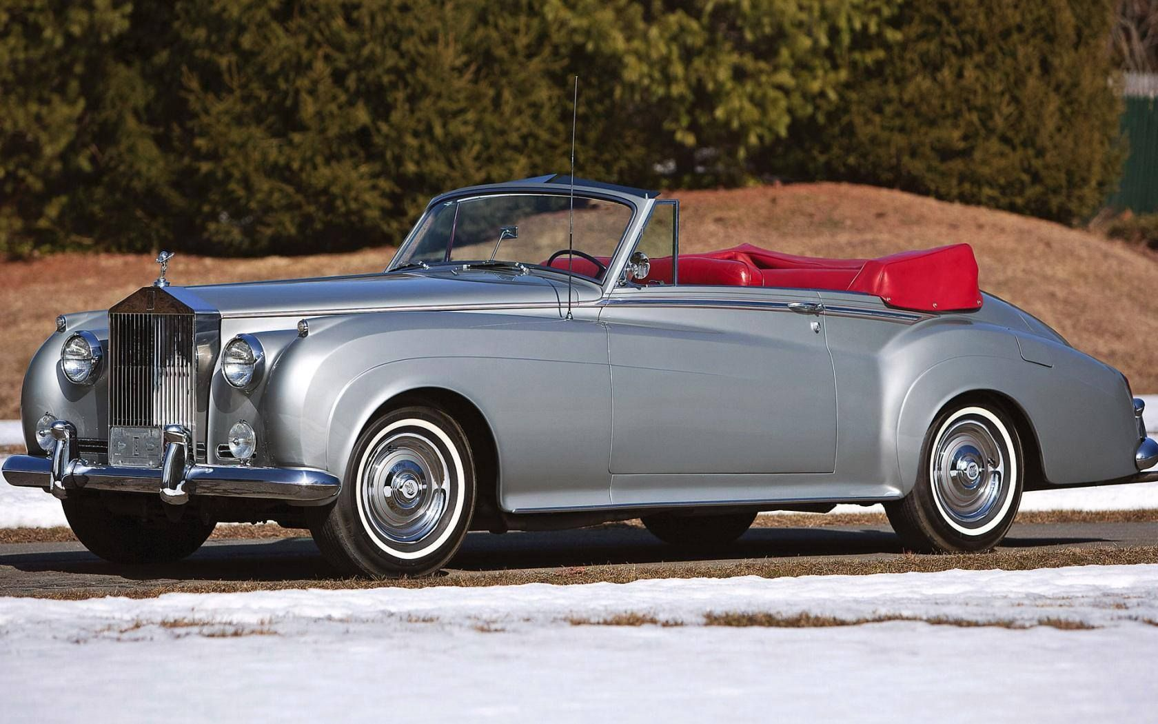 1960 Rolls Royce Silver Cloud Ii Convertible Coupe By H J