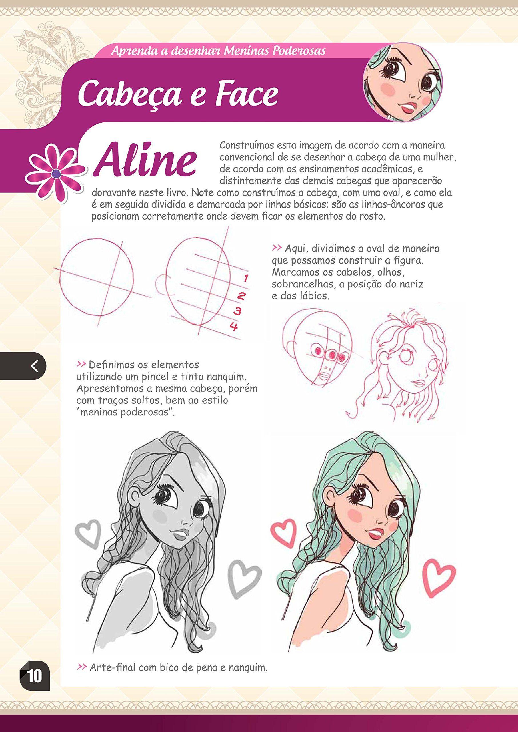 Aprenda a Desenhar Meninas Poderosas, Fadas e Mangá Shoujo - Livros na Amazon.com.br