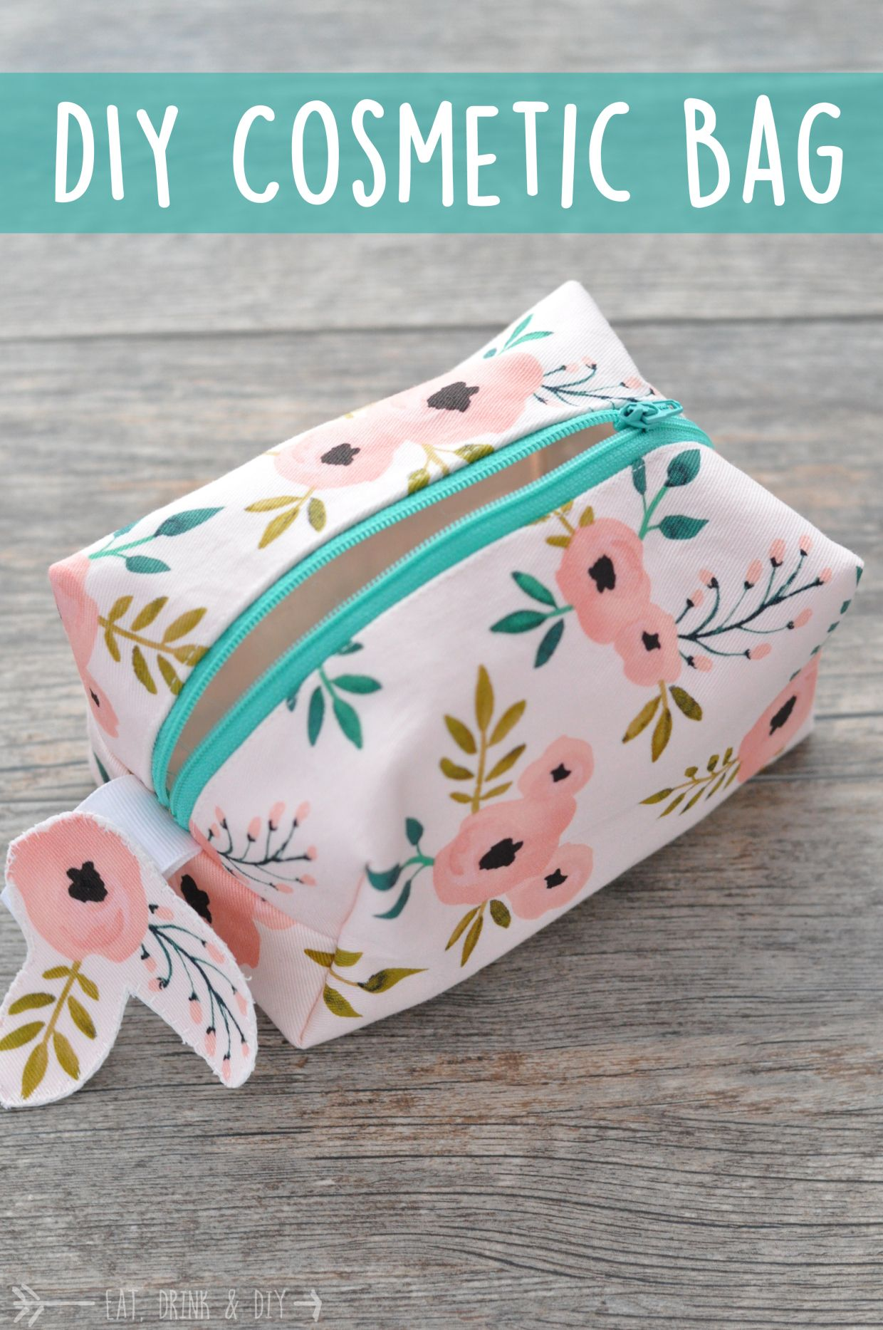 Diy Cosmetic Bag Eat Drink