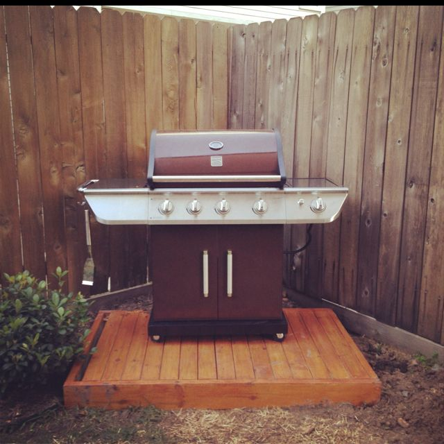Pin By Samantha Bivenour On For The Home Diy Grill Diy Outdoor Kitchen Backyard Grilling