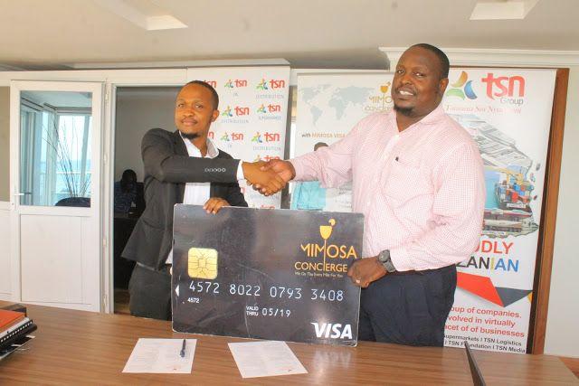 Tsn Group Tanzania Na Mimosa Concierge Wasaini Mkataba Leo Dar Es Salam With Images Concierge Tanzania Leo
